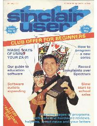 Sinclair User Magazine - 1983/01