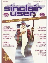 Sinclair User Magazine - 1983/03