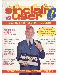 Sinclair User Magazine - 1983/04