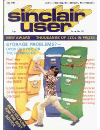 Sinclair User Magazine - 1983/07