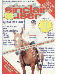 Sinclair User Magazine - 1983/09