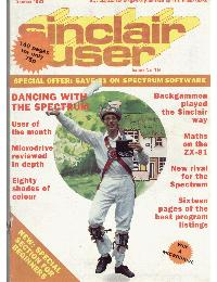 Sinclair User Magazine - 1983/10