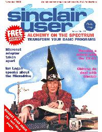 Sinclair User Magazine - 1983/11