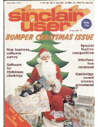 Sinclair User Magazine - 1983/12