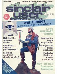 Sinclair User Magazine - 1984/02
