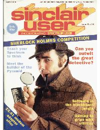 Sinclair User Magazine - 1984/04