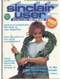 Sinclair User Magazine - 1984/06