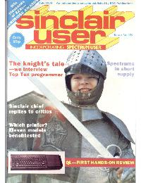 Sinclair User Magazine - 1984/07