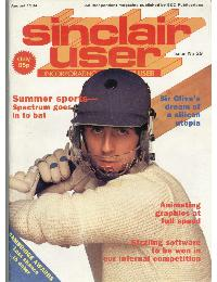 Sinclair User Magazine - 1984/08