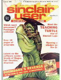 Sinclair User Magazine - 1984/10