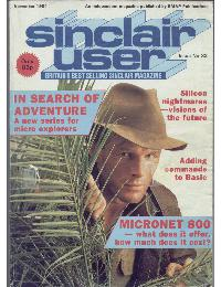 Sinclair User Magazine - 1984/11