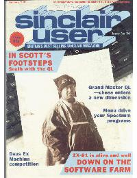 Sinclair User Magazine - 1985/01