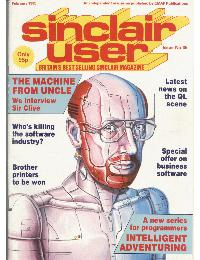 Sinclair User Magazine - 1985/02