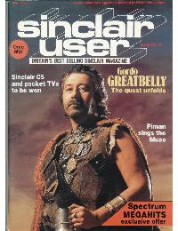 Sinclair User Magazine - 1985/04