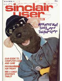 Sinclair User Magazine - 1985/08