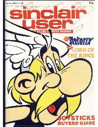 Sinclair User Magazine - 1986/01