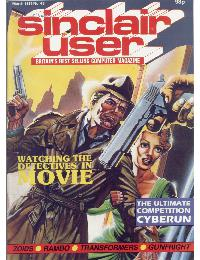 Sinclair User Magazine - 1986/03