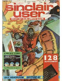 Sinclair User Magazine - 1986/04