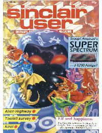Sinclair User Magazine - 1986/06