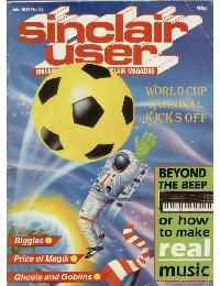 Sinclair User Magazine - 1986/07