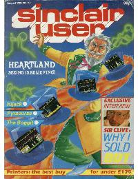 Sinclair User Magazine - 1986/08