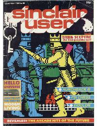 Sinclair User Magazine - 1986/09