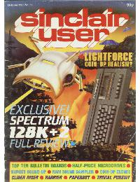 Sinclair User Magazine - 1986/10