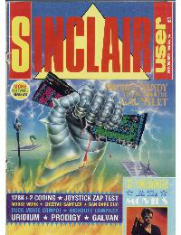Sinclair User Magazine - 1986/11