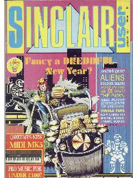 Sinclair User Magazine - 1987/01