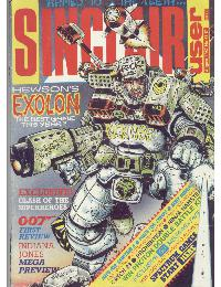 Sinclair User Magazine - 1987/08