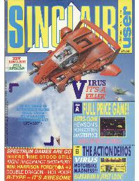 Sinclair User Magazine - 1988/08