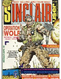 Sinclair User Magazine - 1988/11