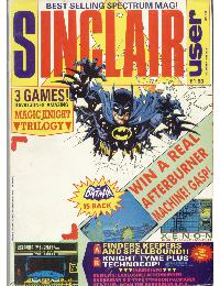 Sinclair User Magazine - 1988/12