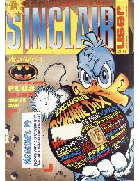 Sinclair User Magazine - 1989/09
