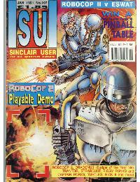 Sinclair User Magazine - 1991/01