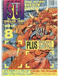 Sinclair User Magazine - 1991/07