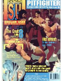 Sinclair User Magazine - 1991/10