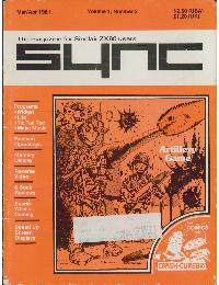 Sync - The magazine for Sinclair ZX80 users - Volume_1_Number_2