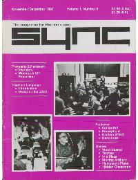 Sync - The magazine for Sinclair ZX80 users - Volume_1_Number_6
