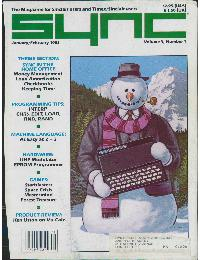 Sync - The magazine for Sinclair ZX80 users - Volume_3_Number_1