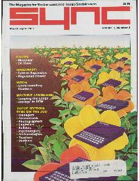 Sync - The magazine for Sinclair ZX80 users - Volume_3_Number_2